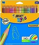 BIC Kids Tropicolors Colouring Pencil...