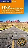 POLYGLOTT on tour Reiseführer USA – Der Westen: Mit großer Faltkarte und 80 Stickern