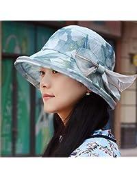 Willsego Sombrero de Mujer Ms Cap Verano Tinta Fina Visera Solar Protección  Solar Bloque de luz Sombrero de Sol Gorro… d5cf497f8ef