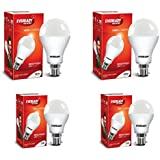 Eveready Base B22 14W Pack Of 2 With 7W Pack Of 2 LED Bulb Combo