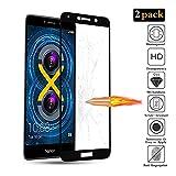 GoodcAcy Verre Trempé pour Huawei Honor 6X Film Protection écran[Pack de 2] [Kit Installation Offert],[ Anti Rayures, sans Bulles d'air,9H Dureté,0,33mm HD Ultra Transparent]