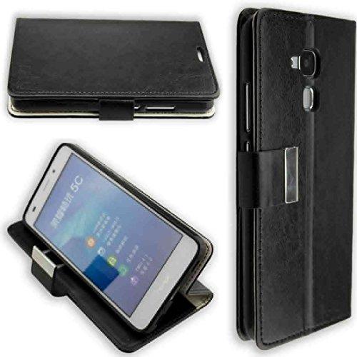 caseroxx Hülle / Tasche Bookstyle-Case Huawei GT3 Handy-Tasche, Wallet-Case Klapptasche in schwarz