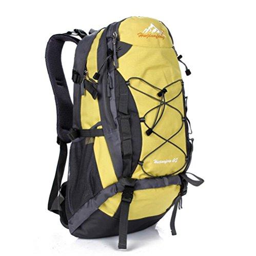 Wmshpeds 40L alpinismo pacchetto viaggio femmina borsa a tracolla impermeabile maschio zainetto B