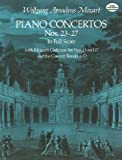 Piano Concertos Nos. 23-27 in Full Score (Dover Music Scores) (English Edition)