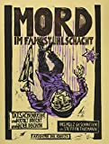 Mord im Fahrstuhlschacht. Tatsachenreihe von Bertolt Brecht und Walter Benjamin. Comic von Steffen Thiemann (Holzschnitt)