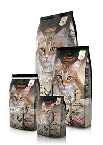 Leonardo Adult Maxi 15 kg getreidefrei Katzenfutter Grain-Free