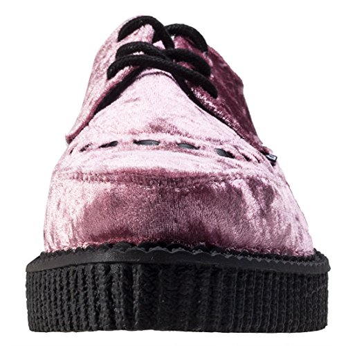 T.U.K Casbah Queen Creeper Femmes Chaussures pink