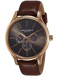 Akribos XXIV Analog Silver Dial Men's Watch-AK870RG