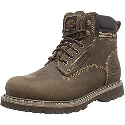 Dockers 23DA004 - Botas de cuero para hombre, color marrón, talla 43