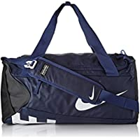 Nike Men's Alpha (Small) Training Duffel Bag, Color Midnight Navy/Black/White, Talla MISC