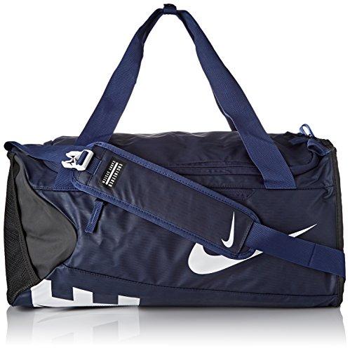 Nike-fitness-studio (Nike Unisex Sporttasche Alpha Adapt Crossbody, midnight navy/black/white, 53.5 x 28 x 25.5 cm, 33 Liter, BA5183-410)