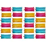 Kotak Sales Stationary Storage Pouch Compass Kids Companion For School Activities Birthday Party Return Gift Outer Side Zip Lock. (Set Of 24pcs)