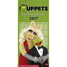 Muppets Familienplaner - Kalender 2017