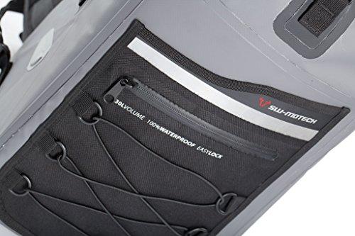 Preisvergleich Produktbild SW-Motech BC.WPB.00.011.10000 Motorrad-Rucksack Drybag 300. 30 Liter, Grau/Schwarz, Wasserdicht