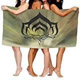 lilihome Warframe Over-Sized Cotton Batch Towel