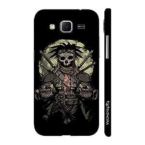 Enthopia Designer Hardshell Case Skull Warrior Back Cover for Samsung Galaxy Core Prime