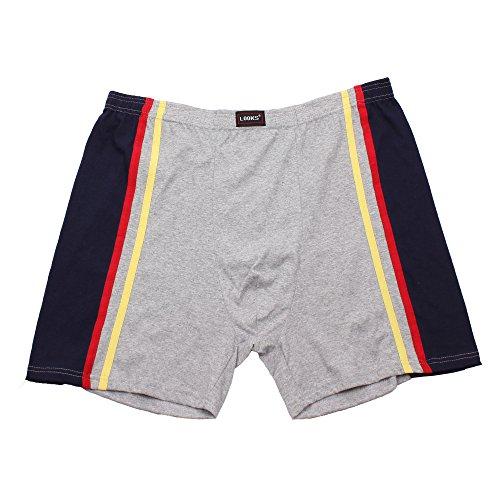Herren Boxershorts Shorts Unterhose im 3er Pack mehrfarbig (Farben können leicht variieren) auch in Übergröße erhältlich Mehrfarbig