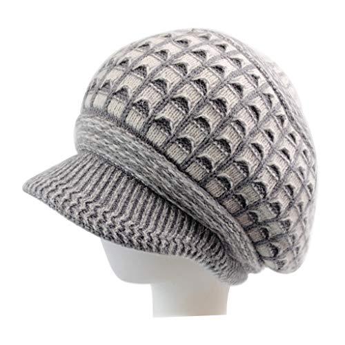 Las señoras elegantes orejeras calientes sombrero