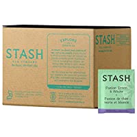 Stash Tea Fusion Green & White Tea, 100 Count Box of Tea Bags in Foil