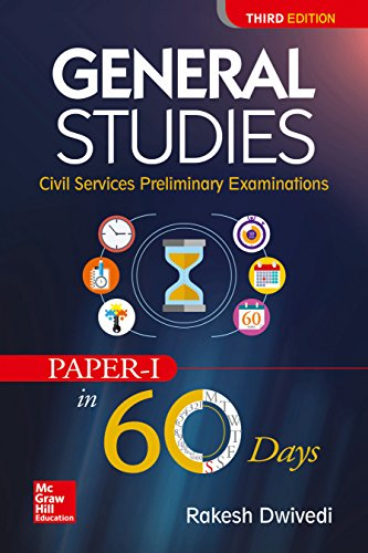 General Studies for Civil Services Preliminary Examination (Paper - 1 in 60 days)