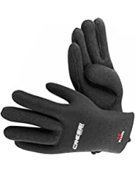 Cressi Damen Neopren Handschuhe HIGH STRETCH GLOVES 2.5mm Black