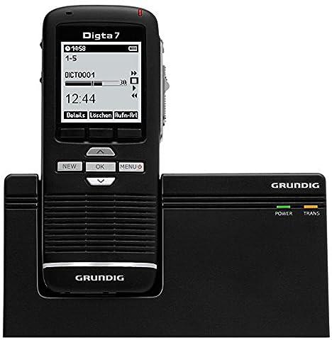 digitales Diktiergerät Digta 7 im Premium Set (SDM7030-22), Handgerät mit