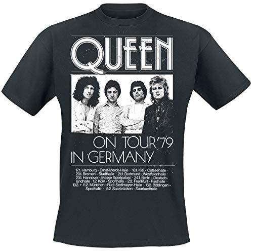 Queen Germany Tour 79 T-Shirt schwarz L