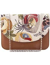 ShopMantra Women Floral Printed Sling Bag