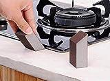 Prevently Reinigungsschwamm Schwamm reiben Küchenreinigungsbürste Topfbürste waschen Sponge Carborundum Pinsel Küche Waschen Reinigung Küchenreiniger Werkzeug (Braun)