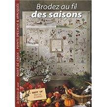 Brodez au fil des saisons. point de croix, points speciaux &appliques