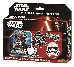 AQUA BEADS Juego de aquabeads 30158 de Star Wars, Modelo de Kylo REN y Soldado Imperial
