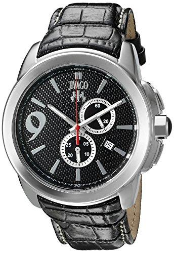 Jivago Men's 'Gliese' Swiss Quartz Stainless Steel Casual Watch (Model: JV1517)