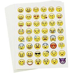 OULII 20pcs stickers, paquete de morir corte etiqueta engomada de la decoración para el teléfono portátil, niños arte conjunto de etiqueta engomada de Scrapbooking para diario, álbum