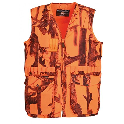 Jagdweste Percussion Stronger ghostcamo Gr. XL, Camo fluo