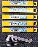 50 xOlfa Ersatzklingen 120-SAB10 30 Grad Klingen Cuttermesser 30° Ersatzklingen