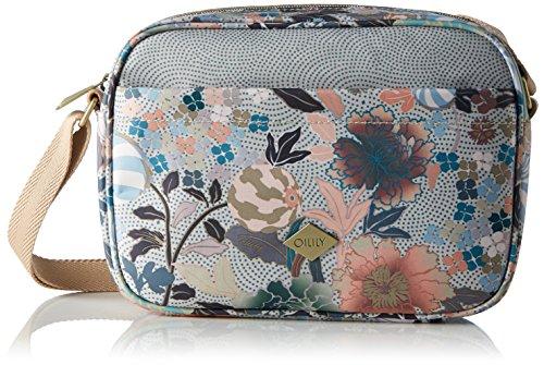 Oilily Damen S Shoulder Bag Umhängetasche, 7.5 x 16 x 22.5 cm Beige (Melon Sorbet)