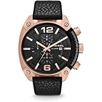 Diesel Overflow Analog Black Dial Men's Watch - DZ4297