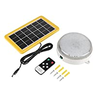 VBESTLIFE 3W Outdoor Panel LED Light Solar Wall Ceiling Lamp with Remote Controller For Garden Yard from VBESTLIFE