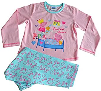 Peppa Pig Flowers Long Girls Pyjamas (18-24 Months)