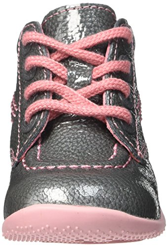 Kickers Billista, Chaussures Premiers pas bébé fille Gris (Gris/Vernis)
