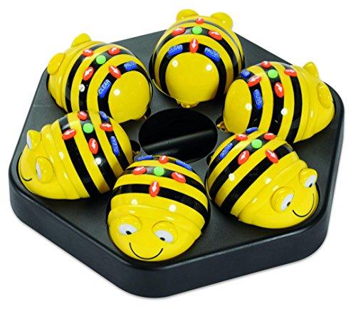 Unbekannt Kinder-Roboter Bee-Bot, 6 x Lern-Roboter, programmierbar inkl. Ladestation - Problemlösekompetenz Spielzeug Schule