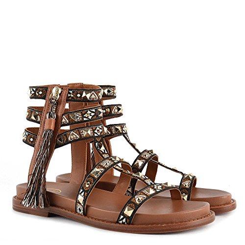 Sandales Marron Cuir Ash Miracle En Femme Chaussures 4Rj5LA3