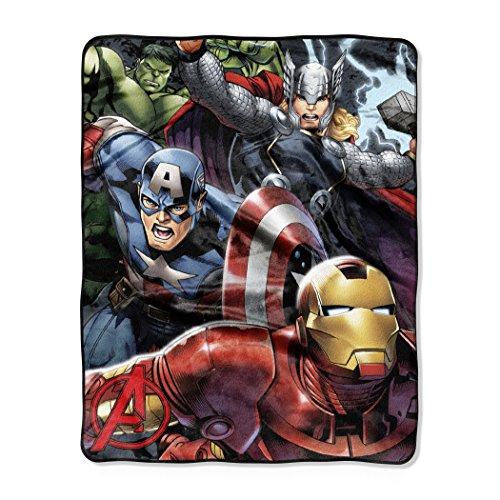 Generic Marvel 's The Avengers teammitgliedern 101,6x 127cm Silk Touch Überwurf