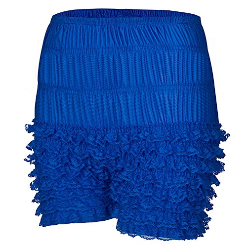 Dorchid Womens Lace Multi-Layer Ruffle Panties Pettipants Booty Shorts 3 Colors -