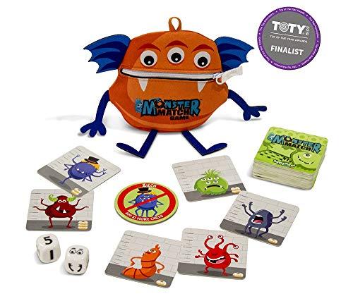 North Star Games MONSTERMAT North Star Monster Match Kartenspiel, Orange Preisvergleich
