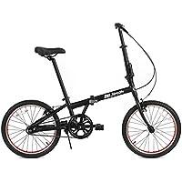 FabricBike Folding Bicicleta Plegable Cuadro Aluminio 3 Colores (Matte Black ...