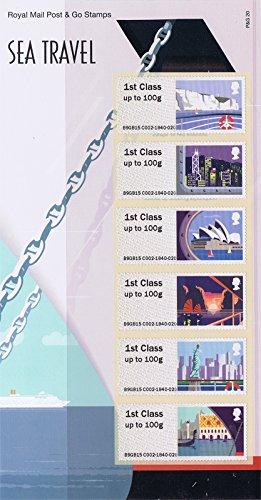 2015Sea Travel Post und Go Präsentation Pack ppp20(P & G20)-Royal Mail Briefmarken -