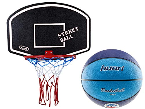 Kimet Hang Ring Basketball Basket Basketball Basketball Ring and Net Quality and Safety Tested You Can Choose Dimensions /Ø 45/cm to 37/cm