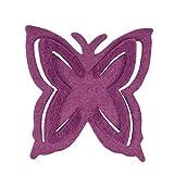 Filz-Deko Schmetterling violet 7,5x8cm