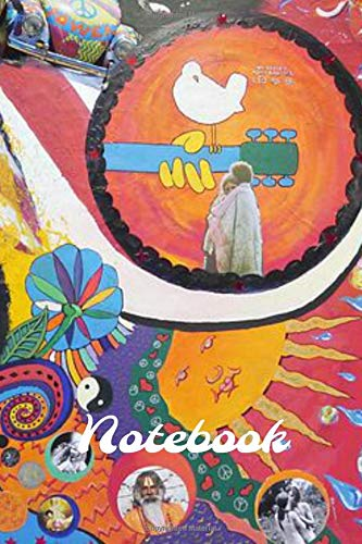 Notebook: Hippy Homework Book Notepad Notebook Composition and Journal Diary por Retrosun Designs